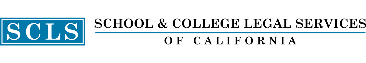 School & College Legal Services of California